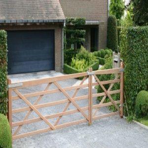 portail wellington bois