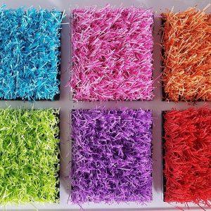 Gazon synthétique de couleur