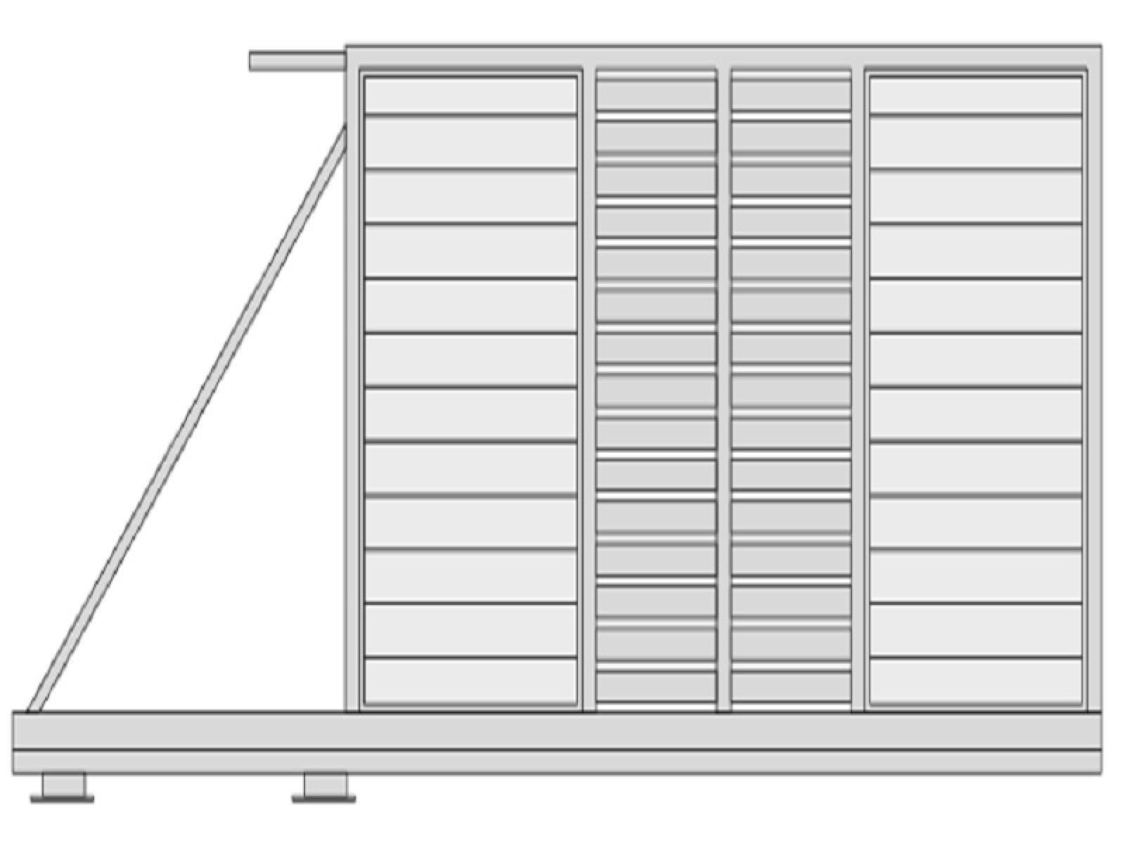 Portail aluminium kiruna