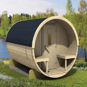 sauna bois extérieur