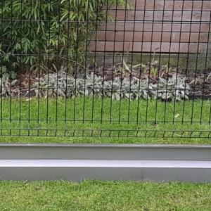 clôture plaque de soubassement