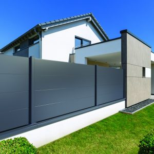 cloture aluminium metal nord